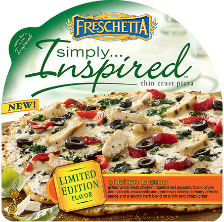 Freschetta Pizza Simply Inspired - Chicken Bianco