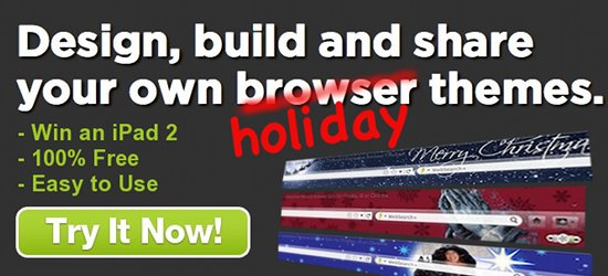 Holiday Browser Theme Contest