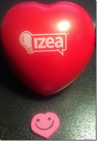 izea ball and eraser