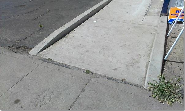 bike accident curb