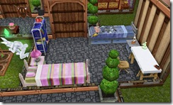 sims kids room medieval castle