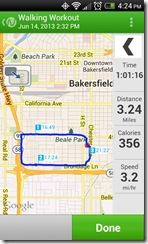 walking workout june 14