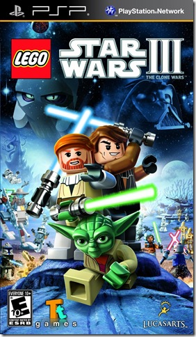 lego star wars III for psp