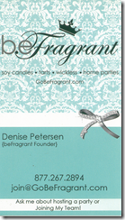 BeFragrant Business Card