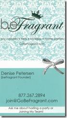 BeFragrant Business Card