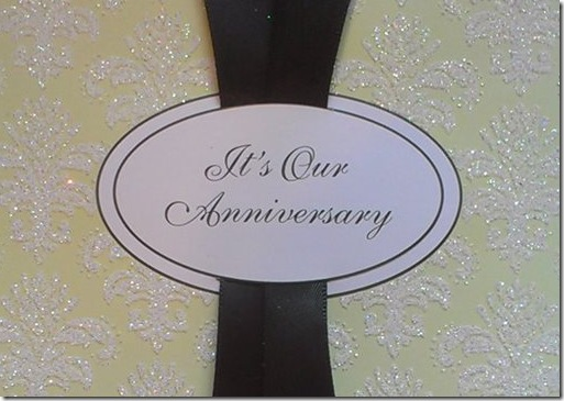 20 year anniversary card