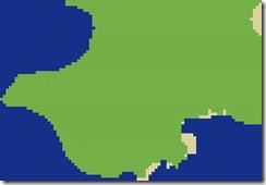 Minecraft land map