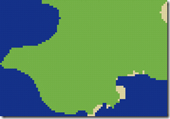 Minecraft land map