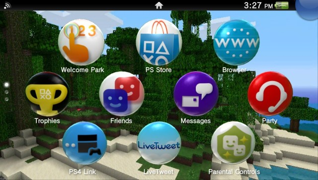 PS Vita Screen