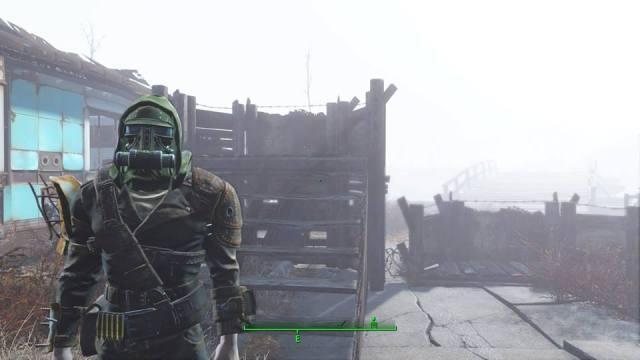 Falloput 4 gas mask