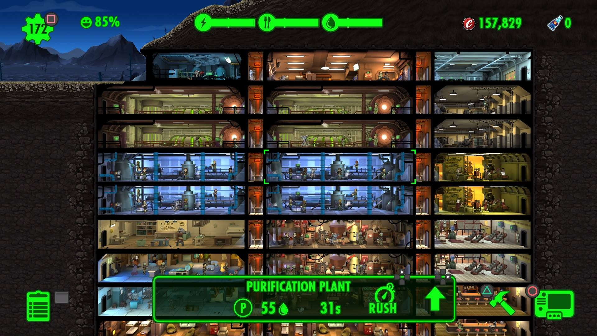 Fallout Shelter Top Floors Layout